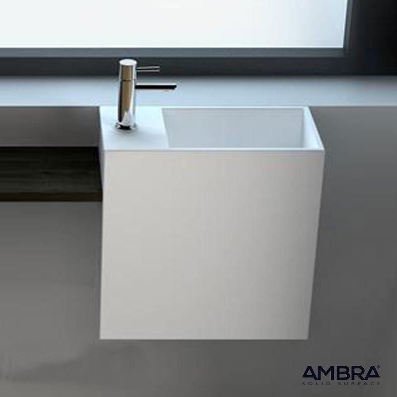 Lave-mains Palma avec percement à gauche